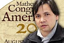 Científico premiado en Congreso Matemático de las Américas 2013 expuso en seminario