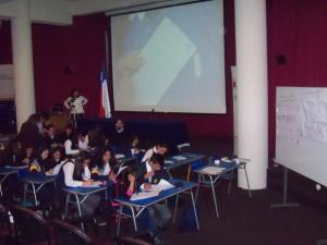 Profesores y alumnos participaron de una exitosa jornada de Clase Pública