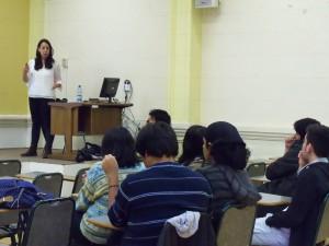 Alumnos del IMA participaron de charla  sobre proceso de Intercambio de Estudiantes de Pregrado