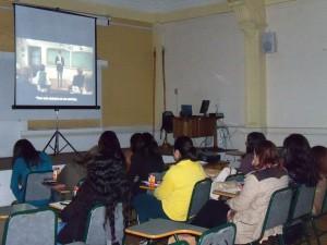 """Estudiantes de 1º  participaron de ciclo de cine """"Aprendiendo a Enseñar"""""""