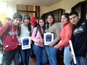 """Alumnos de Enseñanza Media visitaron el IMA para vivir una """"Clase en la Universidad"""""""