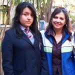 Participante Liceo Bicentenario y Coordinadora regional CMAT