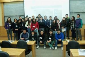 Estudiantes de la región participan de jornada Día Abierto PUCV en el Instituto de Matemáticas
