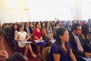 Instituto de Matemáticas PUCV celebra Ceremonia de Graduación y Titulación 2014