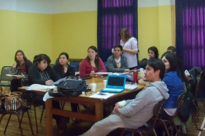 Con docentes de distintas regiones del país se desarrolló curso de perfeccionamiento