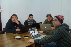 Algunos de los participantes del mini-curso del Dr. Paszynski
