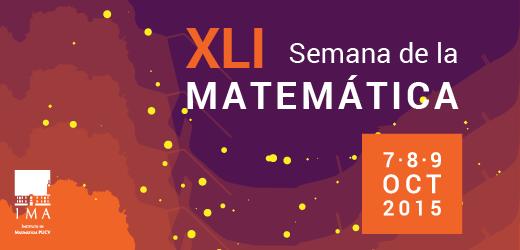 XLI Semana de la Matemática