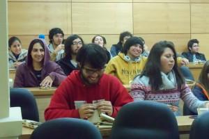"""Alumnos IMA de primer año participan de tercera jornada del """"Seminario de Conocimiento Profesional"""""""