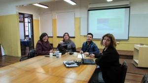 """Investigadores IMA PUCV trabajan en """"Proyecto de Mejoramiento e Innovación de la Docencia Universitaria 2015"""