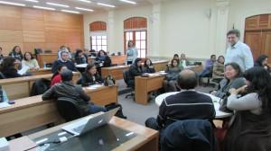 Académicos Patricio Felmer y Patricia Vásquez dirigen taller ARPA en el IMA PUCV