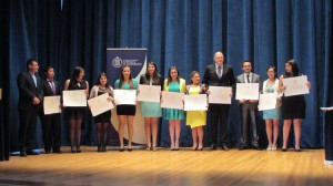 Instituto de Matemáticas cuenta con una nueva promoción de graduados y titulados