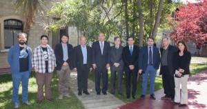 Delegados de la Universidad Autónoma de Nuevo León, México, visitan la PUCV