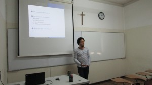 Investigador de la Universidade Federal de Bahía visita el IMA