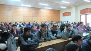 """El """"Día Abierto PUCV"""" en el Instituto de Matemáticas contó con gran asistencia de estudiantes de la V región"""