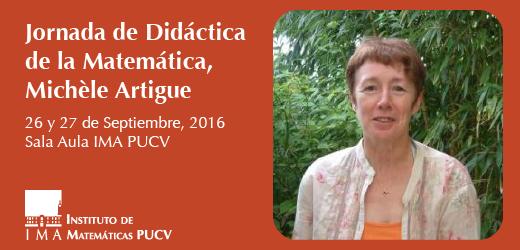 Jornada de Didáctica de la Matemática, Michèle Artigue