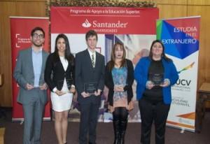 Alumno del Instituto de Matemáticas es beneficiado con beca delPrograma de Apoyo a la Educación Superior del Banco Santander