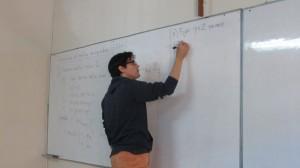 """Finaliza estadía científica de especialista en Teoría de Números de la PUC vinculado al proyecto PUENTE-VRIEA PUCV """"Arithmetic of Hecke eigenforms"""""""