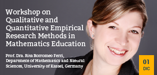 Workshop on Qualitative and Quantitative Empirical Research Methods in Mathematics Education
