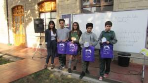 Alumnos del Colegio Antumapu de La Calera ganan concurso MATECREA del IMA PUCV