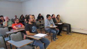 Comisión examinadora integrada por profesores de la PUCV y UV.