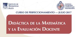 Didáctica de la Matemática y la Evaluación Docente - Julio 2017
