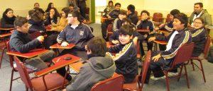 Instituto de Matemáticas organiza clase simultánea entre Chile y Brasil
