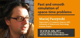 Fast and smooth simulation of space-time problems