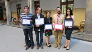Unidad académica y profesores IMA son galardonados en ceremonia de premios a la Excelencia en Investigación y Docencia Distinguida de la PUCV