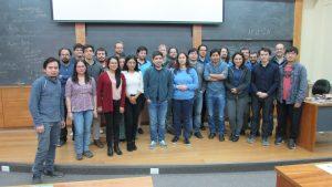 Encuentro de Geometría Compleja y Dinámica Holomorfa-Aritmética se llevó a cabo en el IMA PUCV