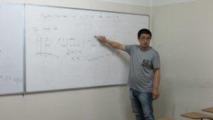 Dr. Jiagang Yang realiza estadía de investigación en el IMA PUCV en el marco del MEC del PCI CONICYT