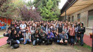 79 nuevos estudiantes son bienvenidos en la tradicional Recepción de Novatos IMA PUCV