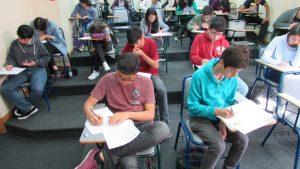 Establecimientos escolares de la Región de Valparaíso compiten en Campeonato Escolar de Matemática 2018