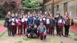Estudiantes del Colegio Jean Piaget de Villa Alemana participan de Jornada Taller en el IMA PUCV