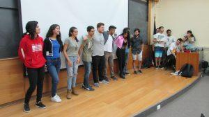 """Con diversas actividades se celebra la """"Bienvenida a Novatos 2019"""" en el IMA PUCV"""
