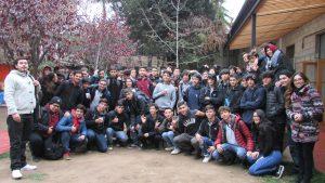 Estudiantes de 3º y 4º medio del electivo matemático del Colegio Salesiano Oratorio Don Bosco (Santiago) visitan el IMA PUCV