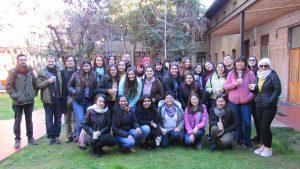 Delegación de estudiantes de la Escuela de Pedagogía Básica de la sede Curicó de la Universidad Católica del Maule visita el IMA PUCV