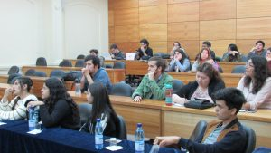 Estudiantes del Colegio Hebreo visitan el IMA para presentar trabajos finales en el contexto de su asignatura de Matemáticas