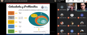 Estudiantes de Pedagogía en Matemáticas IMA PUCV llevan a cabo presentación online de trabajos de títulos 2020