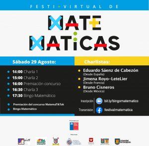 PUCV apoya nueva versión del Festival de Matemáticas