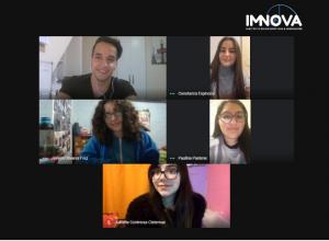 Equipo IMNOVA, integrado por estudiantes de Pedagogía en Matemáticas IMA PUCV, inician sus actividades enfocados en la realización de minicursos online