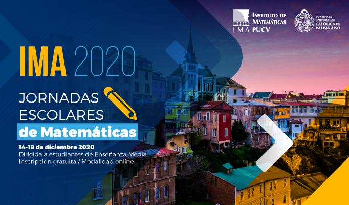 Jornadas Escolares de Matemáticas IMA 2020