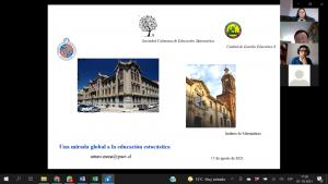 """IMA PUCV realiza """"Jornada de Formación en Didáctica de la Estadística y las Probabilidades"""" con docentes de Perú"""